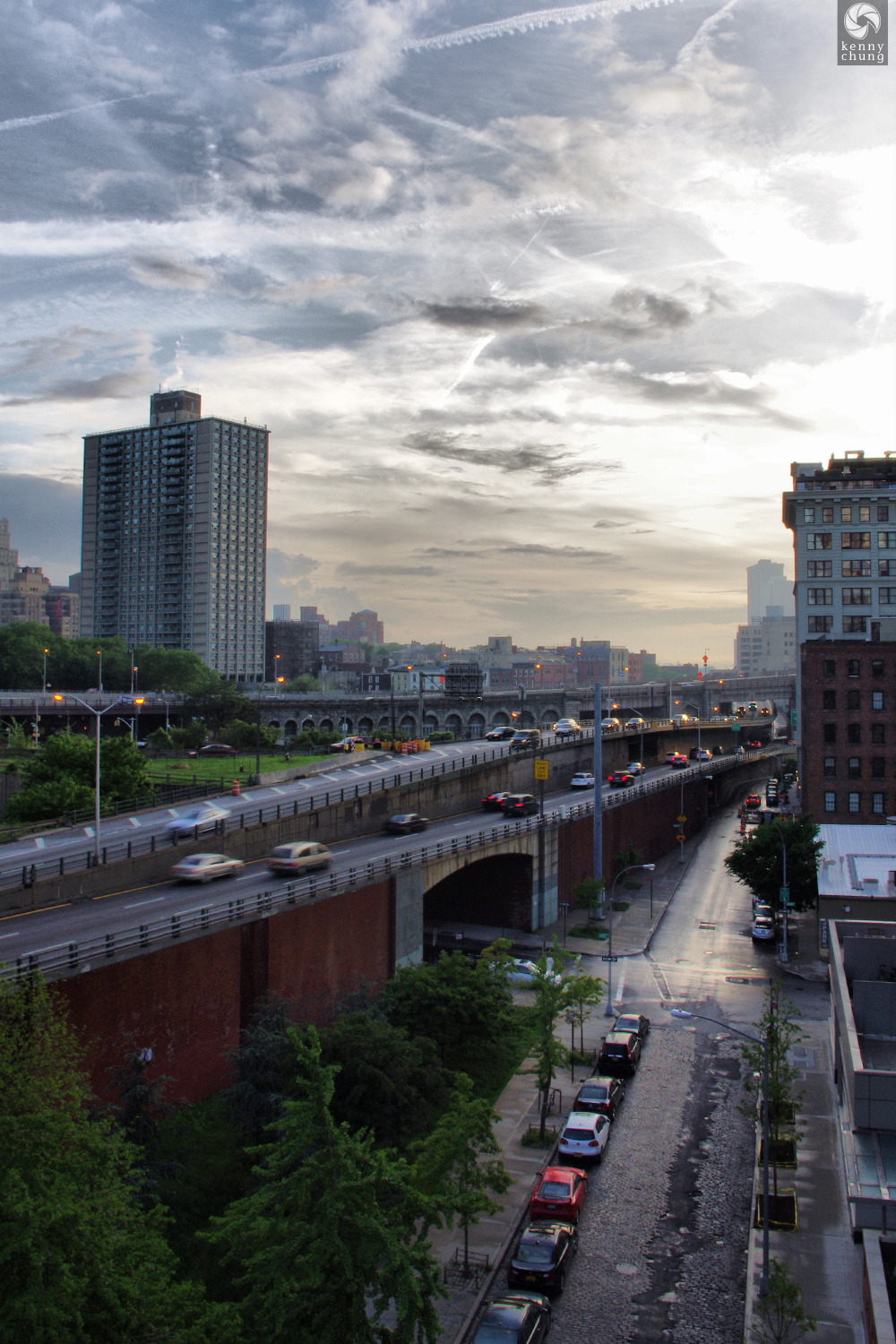 The Brooklyn Queens Expressway