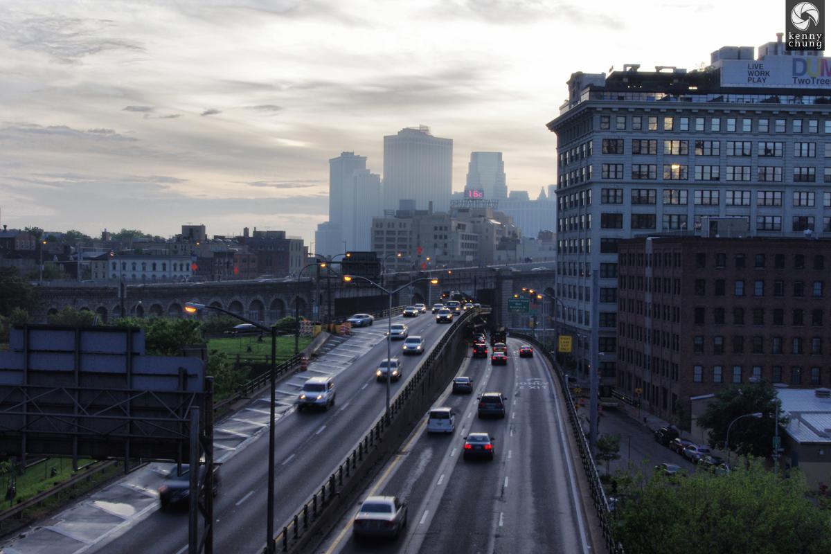 Brooklyn Queens Expressway BQE on Brooklyn