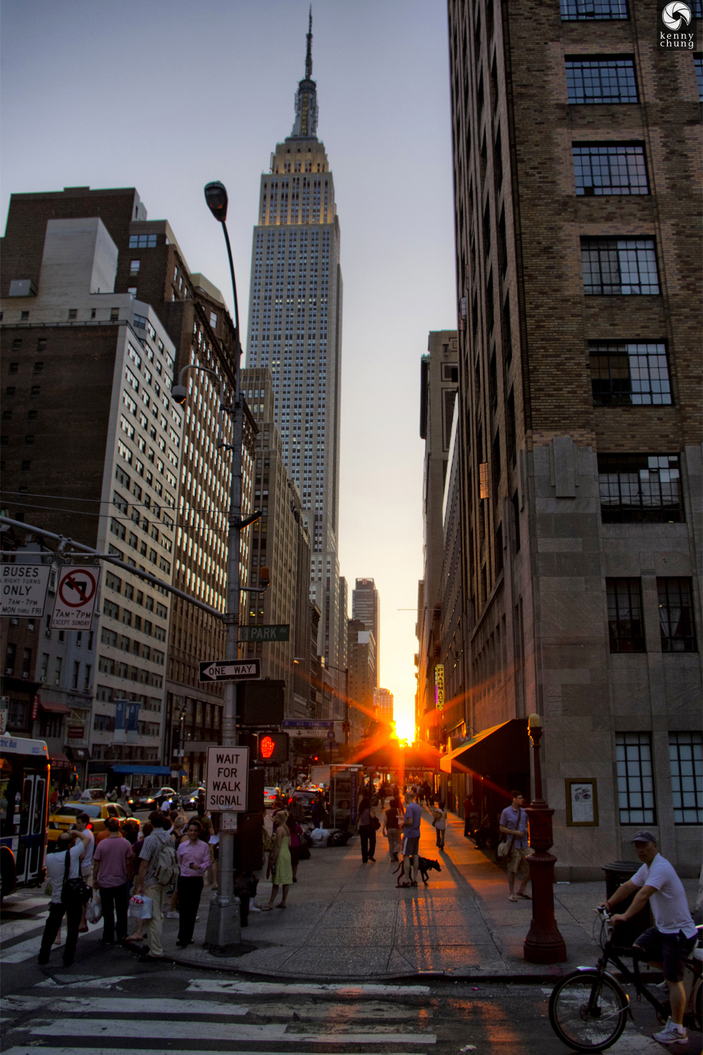 July 12, 2011 Manhattanhenge sun